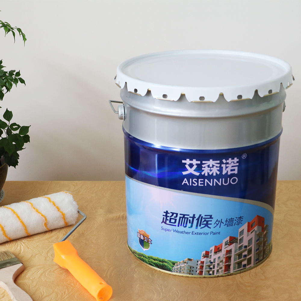 Excellent peeling/fading/chalking resistance building wall paint