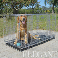 High Quality Thickening Stainless Steel Dog Cages Crates Many Sizes for Sales