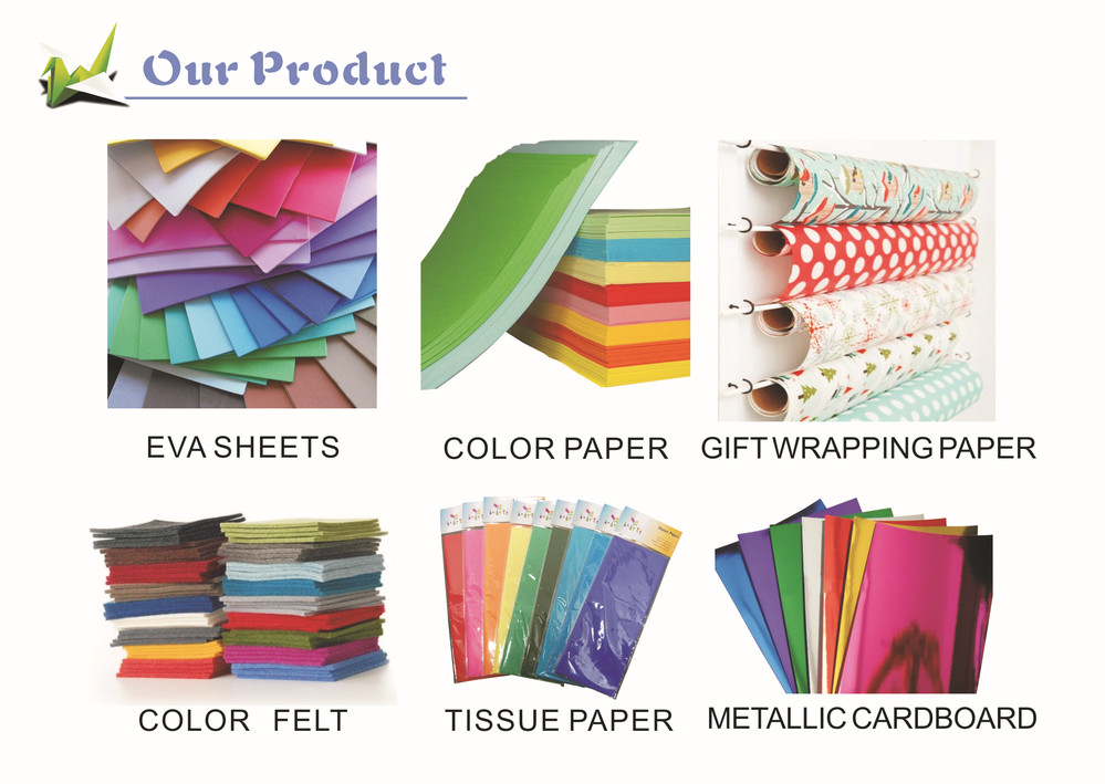 2014 customer size color paper school&office supplier