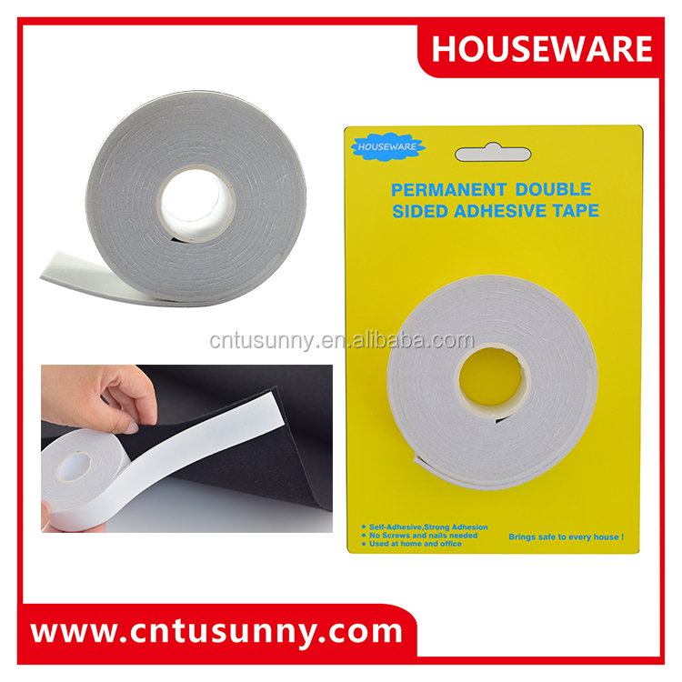 New promotion product non-toxic double sided tape/double sided adhesive tape