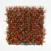 50*50cm wholesale home decor mixed color follaje artificial plant hedge panels