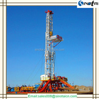 Trailer-mounted offshore oil drilling rig made in China