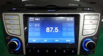 Car 5 inch touch screen