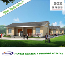 Good quality building construction 50m2 prefab house plan