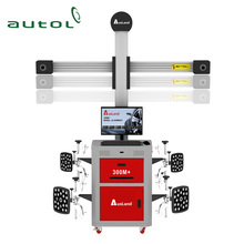 2018 AUSLAND 300M+ 3D Wheel Alignment Multi-station Automatic Tracking 4 Wheel 3D Wheel Aligner