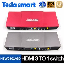 Hot Selling 4K HDMI Switch 3x1 with Audio IR Control HDCP EDID