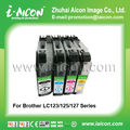 For Brother inkjet ink cartridge LC123/LC125/LC127