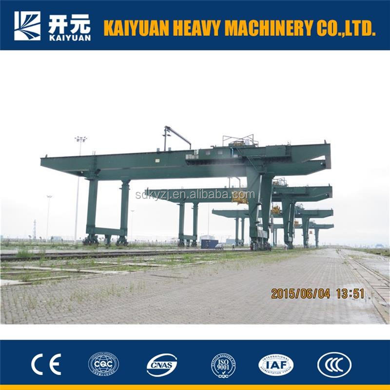 Rail Mounted Container Gantry Crane made by Kaiyuan for the customers from Syria and Iran
