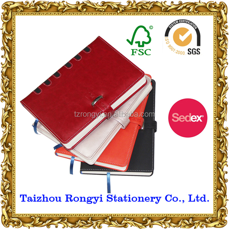2016 /2017 Notepad notebook stationery school material day book agenda diary papelaria leather business colorful