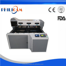 China Jinan high quaiity hot sale with follow up system laser cutting machine