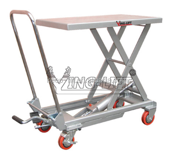 Aluminum Hydraulic Scissor Lift Table