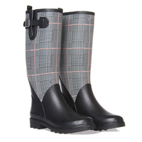 2016 Ladies Fashion Waterproof Cowboy Rubber Boot
