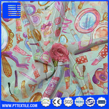 100% Polyester Chiffon Shiner Fabric/Fine Digital printing soft handle for silk scarf dress