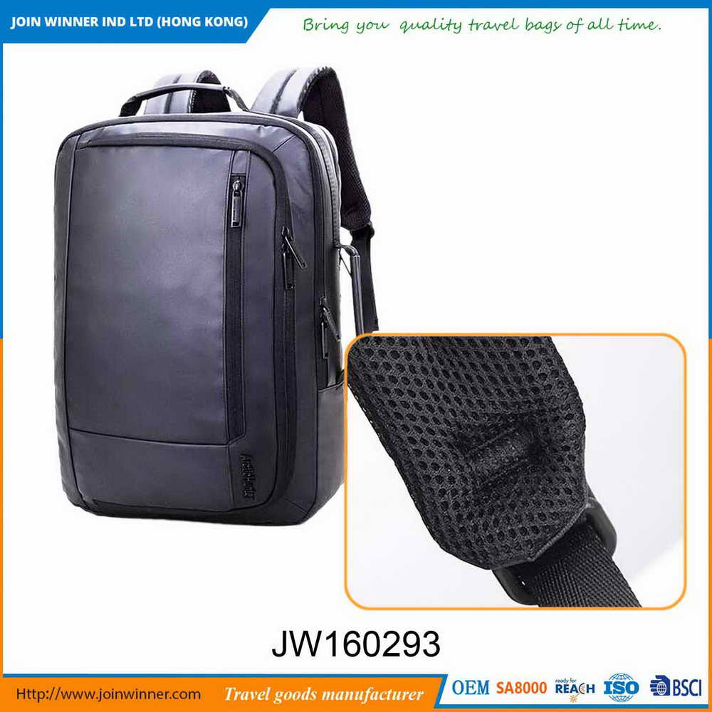 Dignified three compartments backpack school bags Of Bottom Price