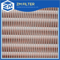 paper machine polyester spiral dryer mesh belt for paper machine dryer section