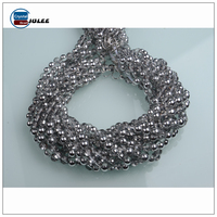 Cheap wholesale glass beads silver beads spherical glass beads