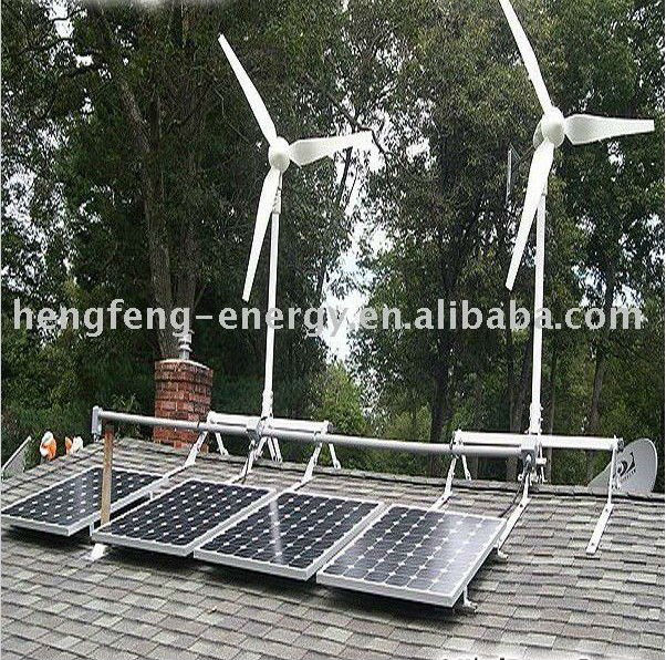 Cheap price 30kw hybrid solar wind power generation system