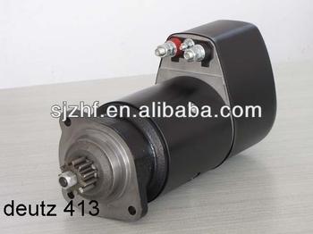 Deutz 413 diesel engine 24v bosch starter motor for sale for Starter motor for sale