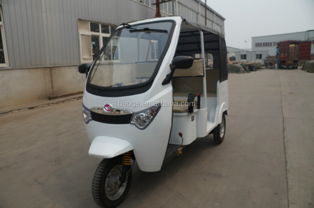 Cheap Indian electric bajaj tricycles
