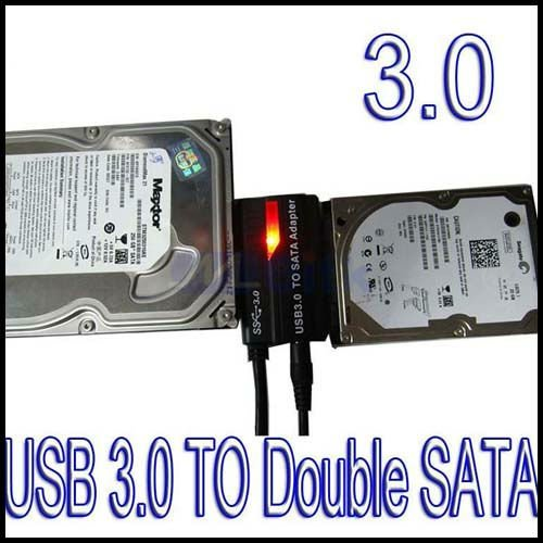 USB 3.0 to Dual SATA Cable Adapter