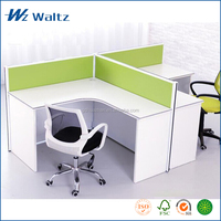 Best price commercial furniture office computer desk table, 2 person computer desk