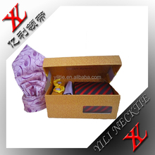 Professional china supplies cheap gift packing custom tie with wooden boxes