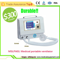 Durable portable emergency medical ventilator for ambulance and hospitals MSLPA01