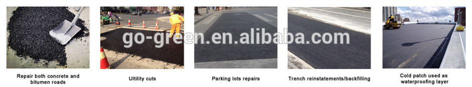 Shanghai Go Green Cold mix Asphalt/ road repair asphalt