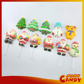 Christmas marshmallow candy