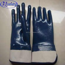 RUNLEI SAFETY Cheapest power free cut-resistance full dip palm coated nitrile glove