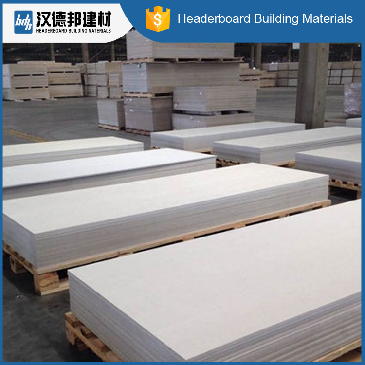 Fire and Water Resistance Cellulose Fiber Cement Board for Partition , Ceiling, Facde system