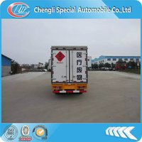 Medical waste transport vehicles,3.5T,100hp,4*2