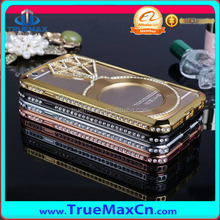 Hotest Sales Luxury Metal Case for iPhone 6, for iPhone 6 metal case with diamond