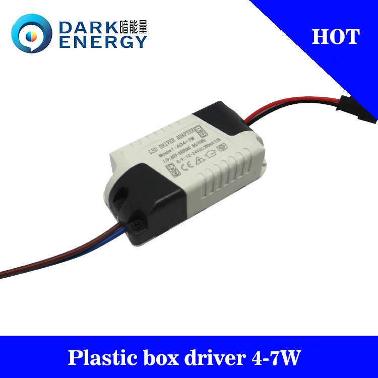 china suppliers led driver manufacturer 300ma 4-7w led driver for downlight