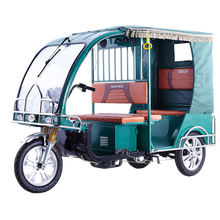 Newest eco-friendly three wheel battery operated tuk tuk bajaj