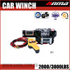 mini 4x4 Manual DMX 220V small 12v 3000lbs electric hand winch