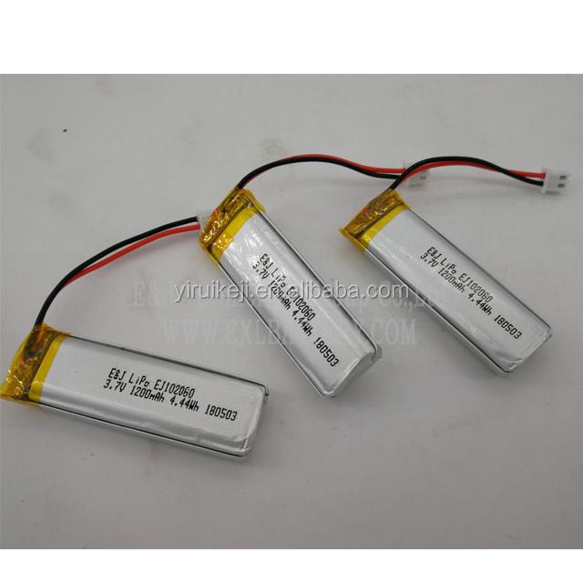 EJ102060 3.7V 1200mah 4.4Wh 180503 Li-polymer  FOR BATON TRAFFIC FLARE 1154 1155 1156 1156X 1157 1158