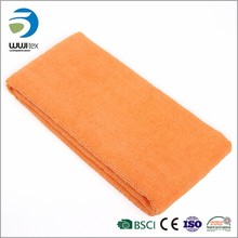car drying cleaning edgeless brushed microfiber glass towel
