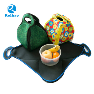 Roihao Supplier New Arrival Frozn Cooler Neoprene Lunch Bag For Ladies