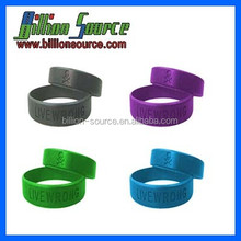 unique cheap custom silicone thumb ring