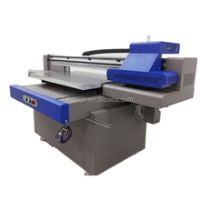 Automatic height measurement system a1 9060 Digital inkjet uv led printing machine uv flatbed printer for sale
