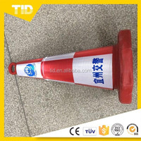 Reflective traffic cone sleeve as safety signs