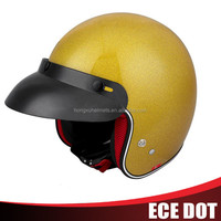 fashional safety Glass fiber 3/4 racing motorcycle helmets