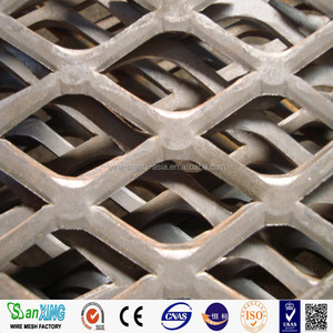 Factory supply best price galvanized expanded metal gothic mesh