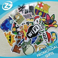China OEM Factory Cute PVC Promotional Custom Made Stickers