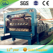 Double Layer Corrugated and IBR Metal Roof Panel Cold Roll Forming Machine