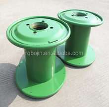 double layer high speed metal cable reel for electric wire and cable extruding machines
