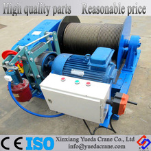 JK 1t 2t 3t 5t 8t 10t High Speed Construction Site/ Boat Lifting Winch for Sale