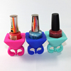 2016 silicone manufacturer silicone rubber nail polish holder
