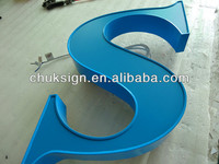 LED illuminated electronic letter high quality customized letter sign made in China